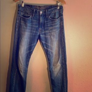✅ AMERICAN EAGLE Jeans Blue Slim AEO Men's 29W 32L